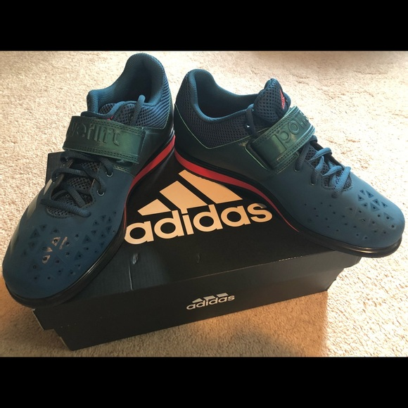 adidas powerlift 3.1 weightlifting shoes petrol